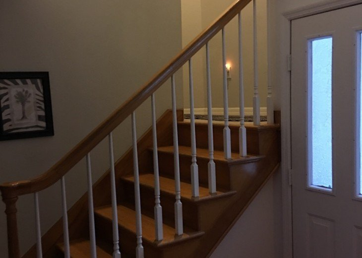 Stairwell to second level
