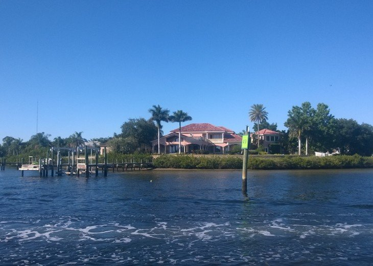 Anclote Island from the water