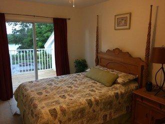 Balcony bedroom