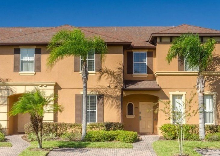 4 Bedroom Townhouse-Regal Palms Resort-Close to Pool and Disney,Wi-Fi #2