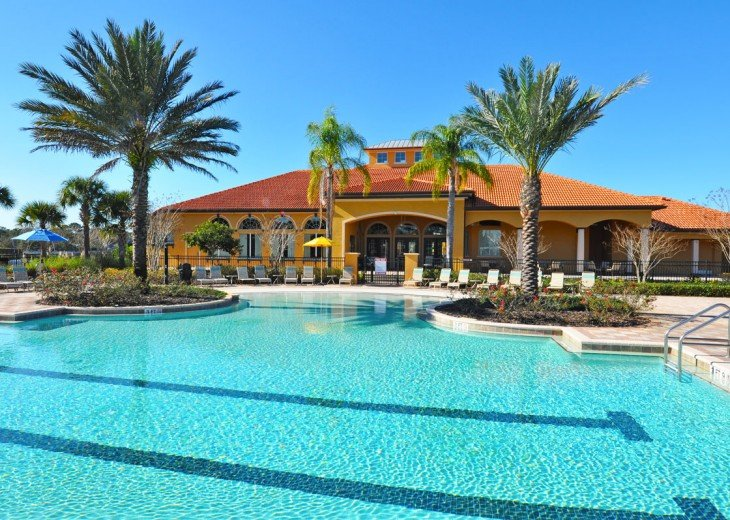 6BR 5.5BA GATED, LUXURY RESORT! PRIVATE POOL/LANAI! Watersong- 416AOCJGIL #25