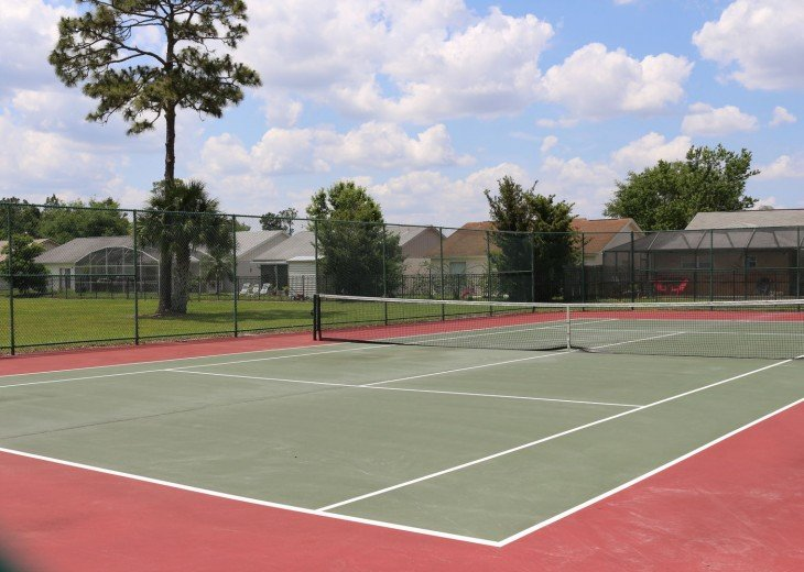 Tennis Courts, Indian Point, Kissimmee, Florida