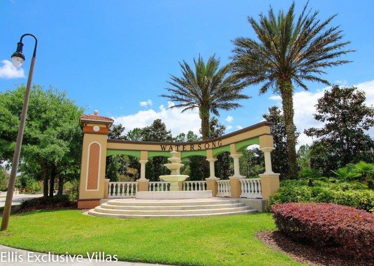 Watersong Resort, Daveport, Florida - family vacation homes