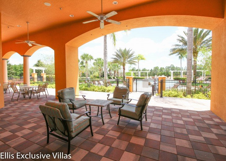 Clubhouse terrace near Disney Orlando