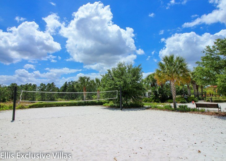Volley ball at Watersong resort, Florida