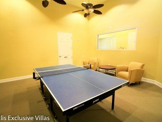 Watersong Resort, games room