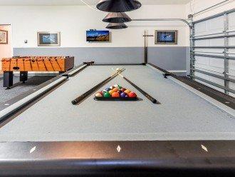 Games Room - pool table, air hockey & foosball