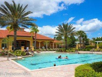 Family pool at Watersong Resort, Davenport, Florida