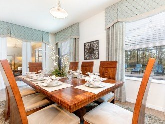 Dining Room seating 8 for family meal time