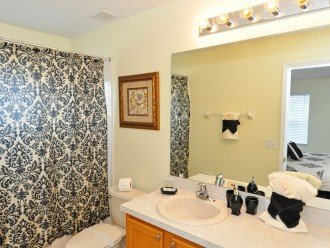 Master Suite 3 bathroom - bath with shower over