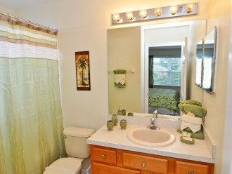 Master Suite 2 bathroom - bath with shower over