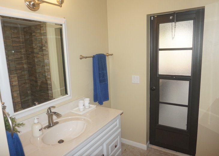 Pool Bathroom for Guest Bedrooms