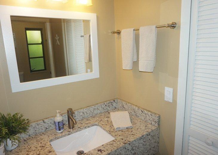 Master Bathroom Granite Vanity