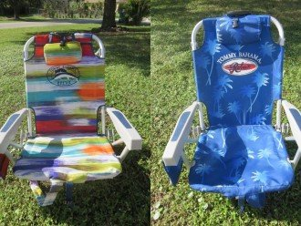 Beach Chairs Free to use TOMMY BAHAMA