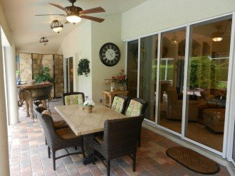 Outside Dining Seating