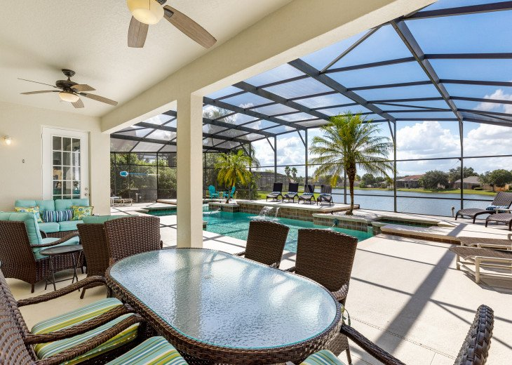 Lakeview Retreat, luxury villa, large pool, game room and cookout area #4