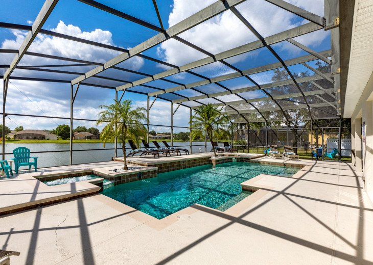 Lakeview Retreat, luxury villa, large pool, game room and cookout area #1