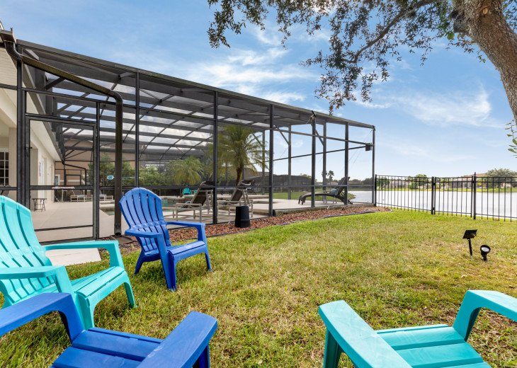 Lakeview Retreat, luxury villa, large pool, game room and cookout area #38