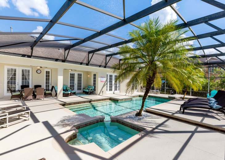 Lakeview Retreat, luxury villa, large pool, game room and cookout area #3