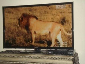 Large flat Screen TV
