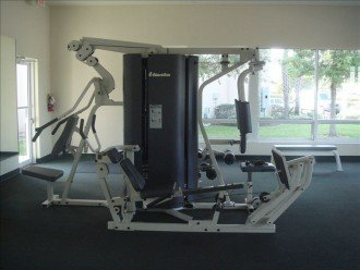 Gym for the resort
