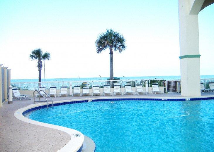 Beachfront Luxury 2BR. Sleeps 6. Mstr. BR on Gulf. Summer Weeks Available! #30