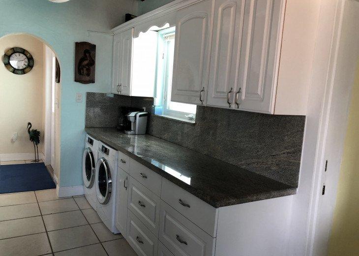 Washer & Dryer in Kitchen