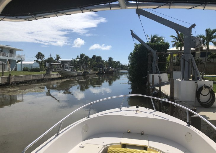 75 Ft Dock on Wide, Deep Canal