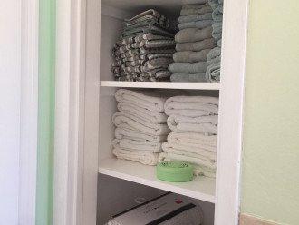 Stocked Towel Closet