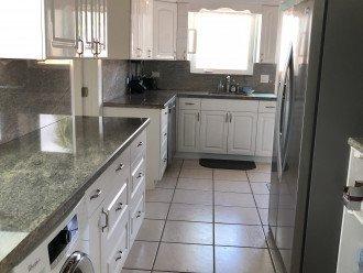Spacious Kitchen, Stainless & Granite