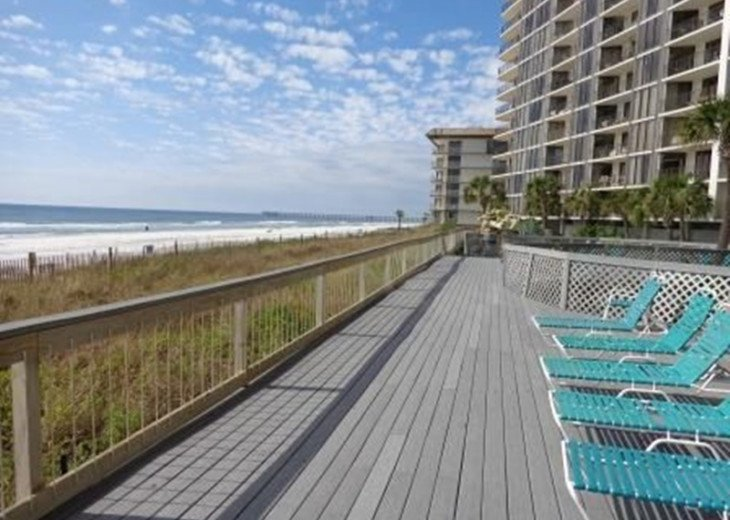 Edgewater Beach Resort 2 br/2 baths on the beach #28