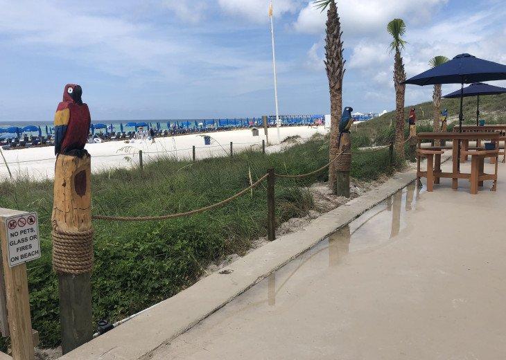 """""""GROUND FLOOR"""" Beach 30 ft out your DOOR/PETS #22"""