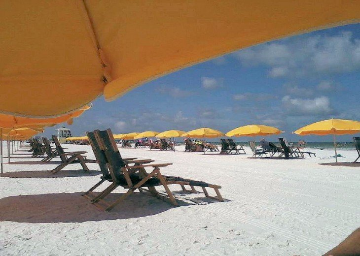 CLEARWATER BEACH WITH ITS SUGAR WHITE SAND