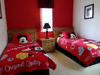 Disney Theme Twin Bedroom