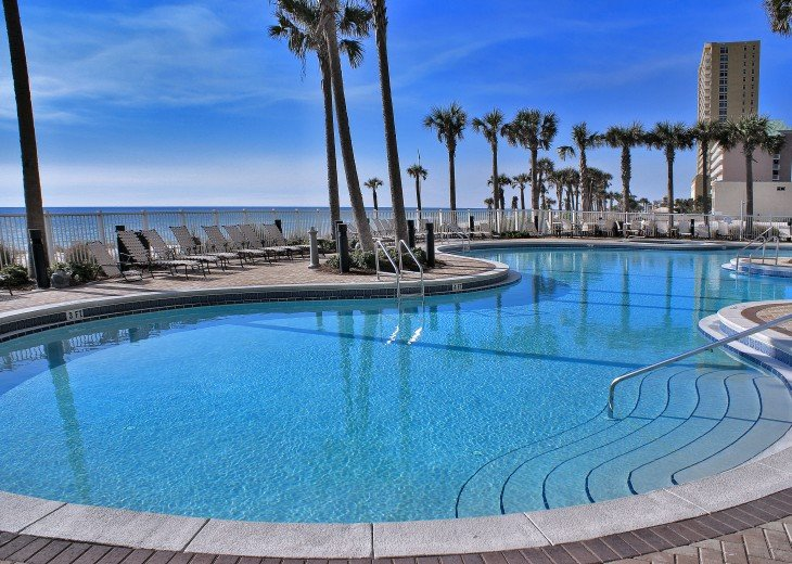 Grand Panama-Beachfront, 3 BR+Bunk-Luxury Condo, Free Beach Services #20