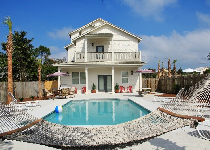 8 bedroom house rental in destin fl island pearl gulf views private pool golfcart at discount