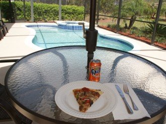 Pizza, Fanta, Pool And Lots Of Sunshine