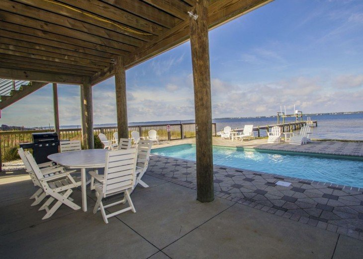 Soundfront Home with Pool #6