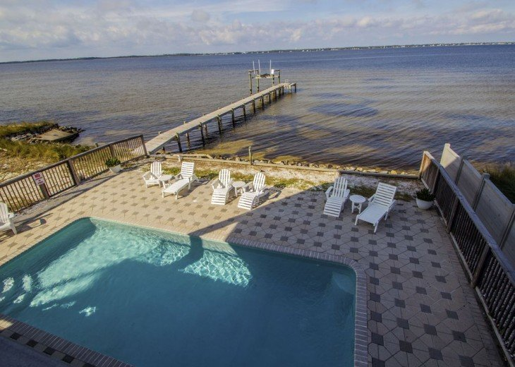Soundfront Home with Pool #9