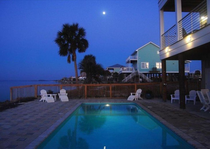 Soundfront Home with Pool #5