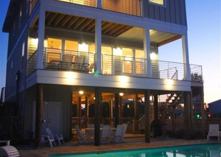 Soundfront Home with Pool #1