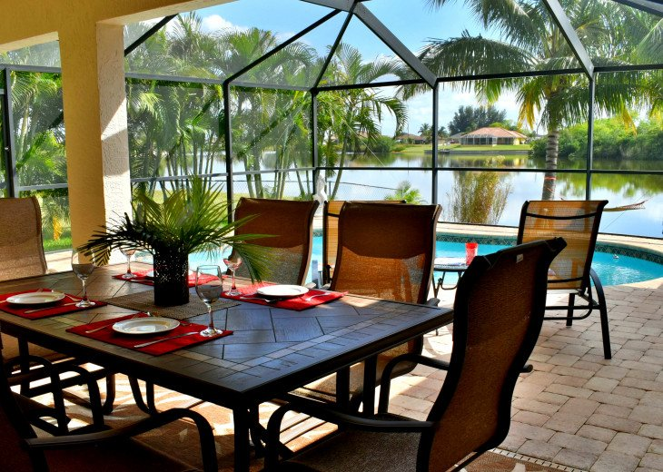 Villa Florida Vacation - Last Minute Prices in August -Lake front with Pool #4