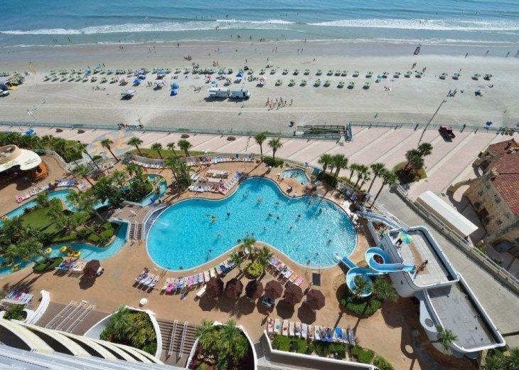 Ocean Front,at Ocean Walk Resort One Bedroom suite #49