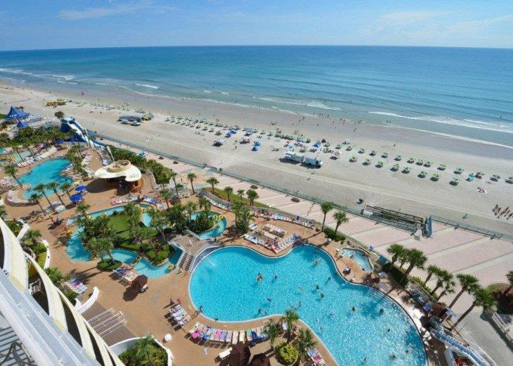 Ocean Front,at Ocean Walk Resort One Bedroom suite #47