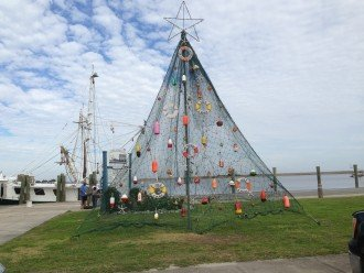 Christmas Tree In Apalachicola