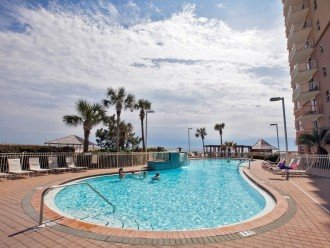 Second outdoor pool at the Pelican