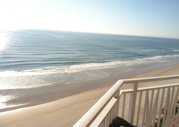 DIRECT OCEAN FRONT 2 BEDROOM 2 BATH CONDO ON FAMILY SAFE NO-DRIVE BEACH #3