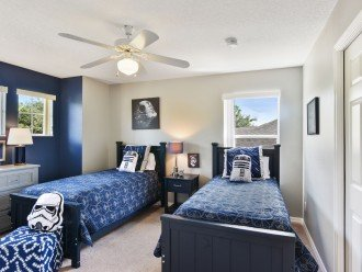 No rear neighbors! South Facing Pool and Disney Themed Bedrooms! Updated Kitchen #1