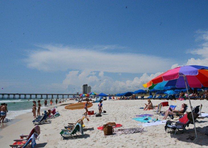 Calypso Resort, Free Beach Service, Netflix & Walk to Pier Park! #32