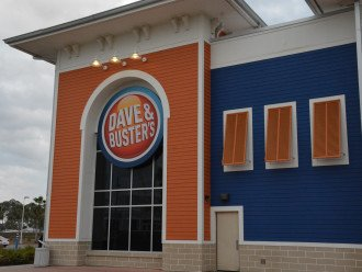 Everyone knows Dave & Busters! Right across the street at Pier Park.